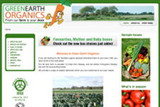 GreenEarthOrganics.ie home page
