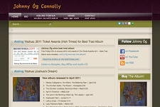 JohnnyOgConnolly.com e-Commerce solution, MP3 download store